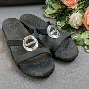 Women's Croc slides sandals